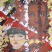 Portrait d'humanité, enfant du monde 2, acrylique sur toile, 18x14 pouces thumbnail