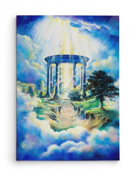 Entre Ciel et Terre / Between Heaven and Earth / Zwischen Himmel und Erde / Entre Cielo y Tierra - Acrylique et huile  40x30