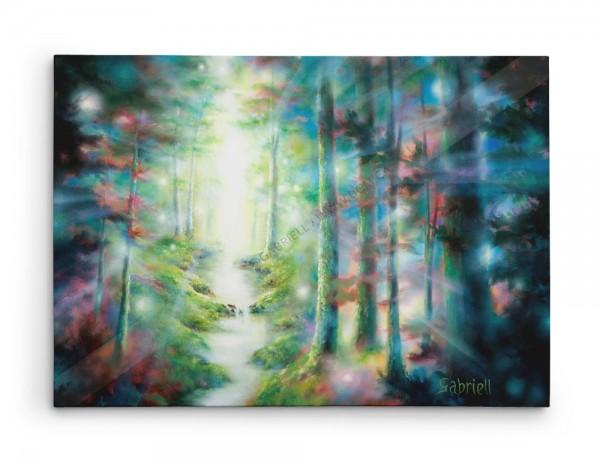 Gloires de Dieu / God's Glories / Gottes Pracht / Glorias Divinas - Acrylique et huile  30x24