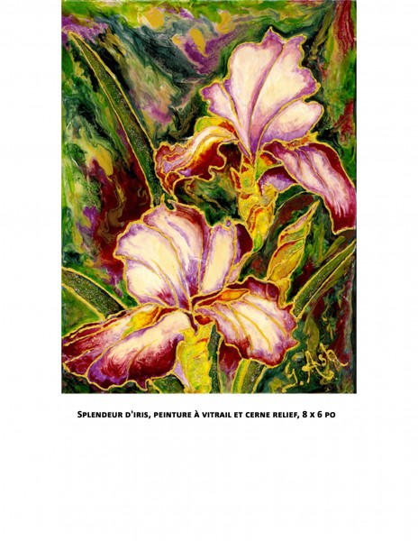Splendeur d'iris