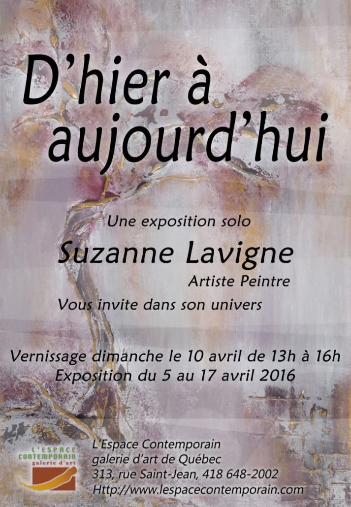 Invitation, Suzanne Lavigne