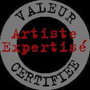 Artiste expertisé. Valeur certifiée.