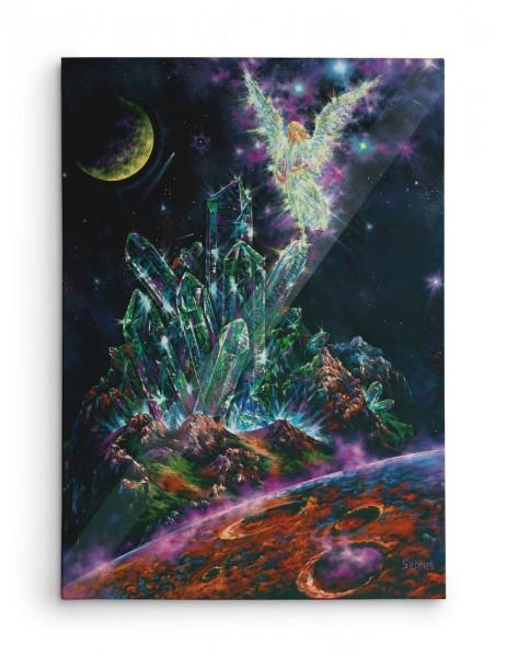 Cristal d'Ange / Angel's Quartz / Engel-Kristall / Cristal del Angel - Huile sur toile - 40