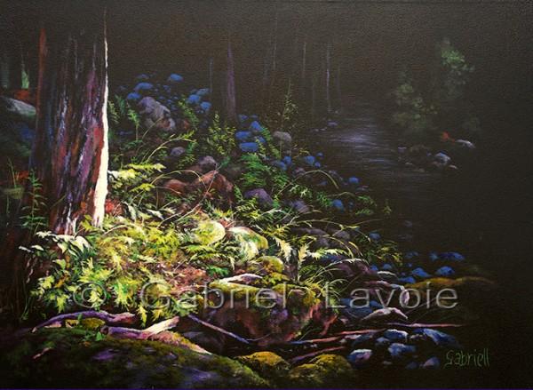 Jour et nuit - Huile et acrylique sur toile - 20