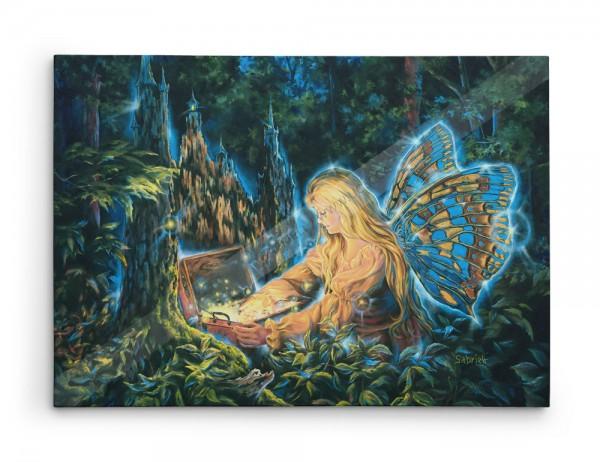 VENDUE - Trésor de lumière - Huile sur toile - 40