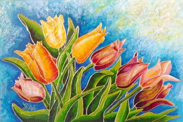 La parade des tulipes