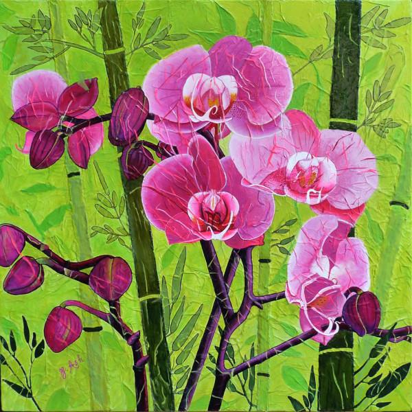 Orchidée à saveur éxotique
