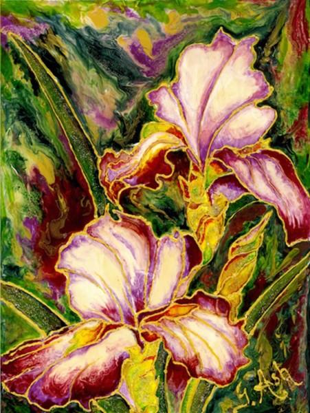 Splendeurs d'iris